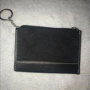 Coach mini wallet/ID holder